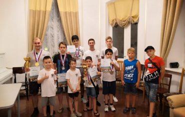 Шахматный турнир в Шепси